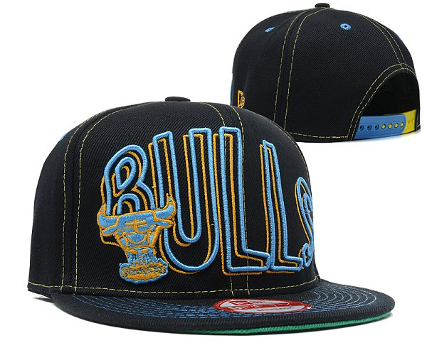 Chicago Bulls NBA Snapback Hat SD 2313